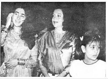 Karisma,Babita and Kareena.