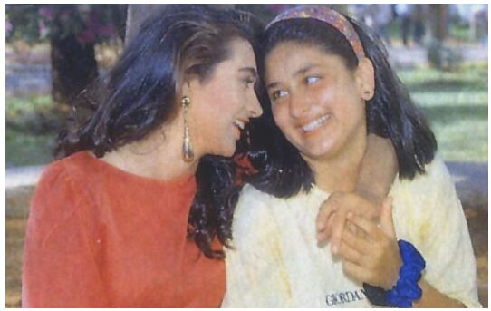 Karisma with Kareena.